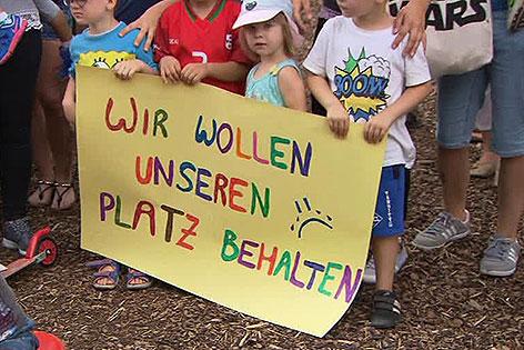Kinder des KIGA Alt Wien Foto: orf.at