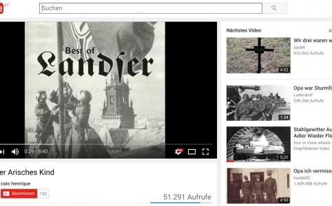 Landser-Videos auf Youtube allgegenwertig