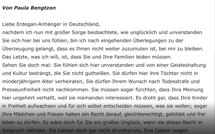 Der weitgehend idente Text auf JouWatch von dem HC Strache seinen Wut-Brief abgeschrieben hat.