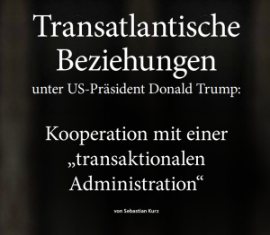 Transatlantische Beziehungen unter unter US-Präsident Donald Trump
