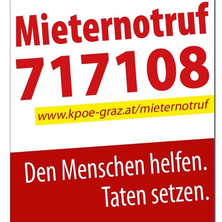 Mieternotruf KPÖ Graz