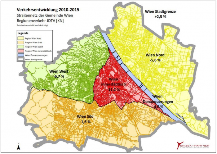 Verkehrszählung Wien