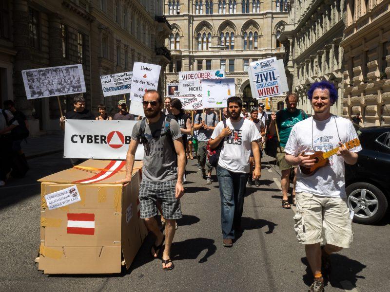 Aktionstag gegen das Überwachungspaket