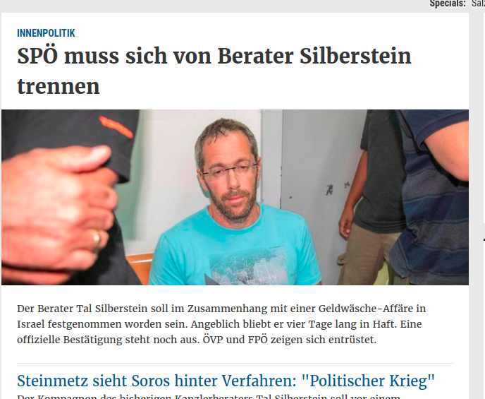 Screenshot Presse Online