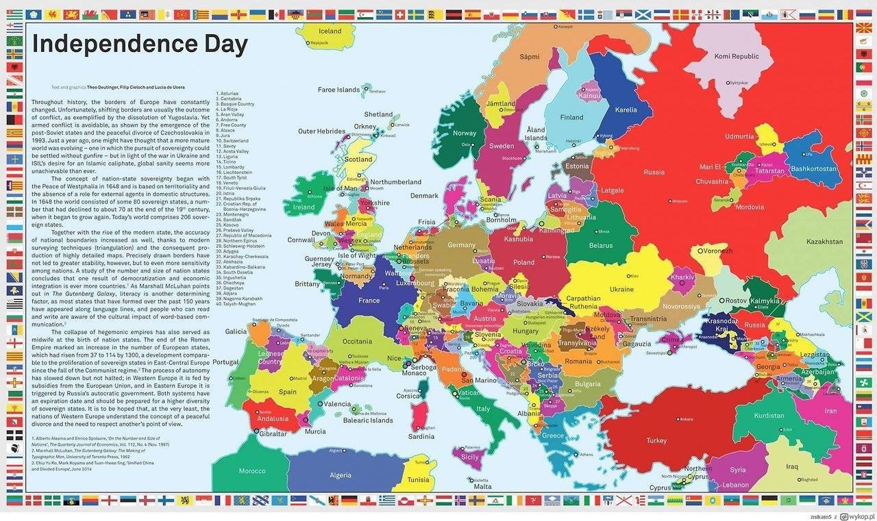 Europa - Nach allen Sezessionen