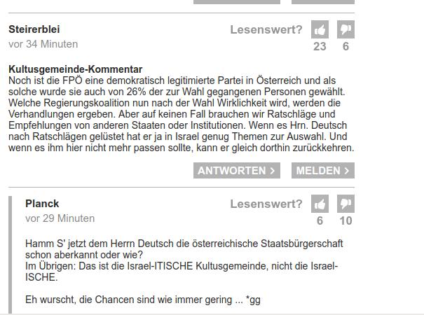 Forum der Kleinen Zeitung, 23.10.2017