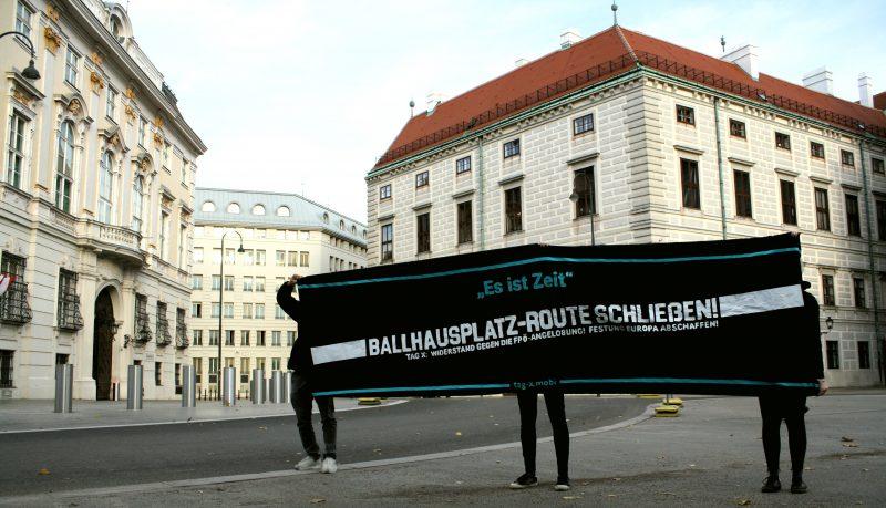 Ballhausplatz Route schließen
