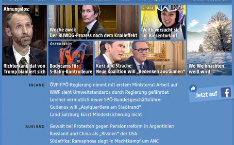 ORF Homepage