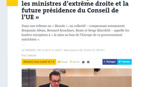 Titelbild Le Monde