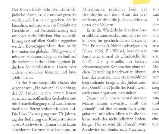 Textauszug Karl Richter Aula 2015