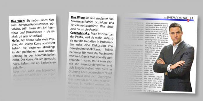 Mein Wien: Journalismus oder PR?