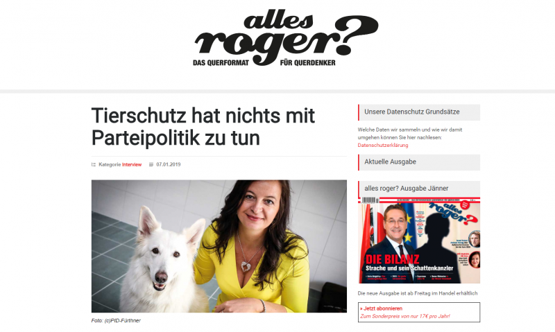 Screenshot: Ulli Sima in alles roger?
