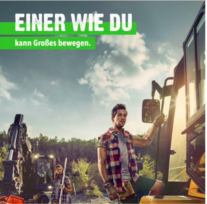 Werbakampagne Landschaftsgärtner 2016