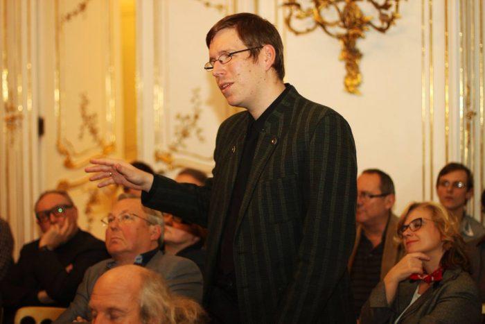 Patrick Poppel bei der ORFG