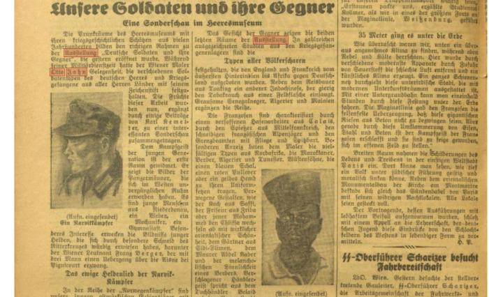 Illustrierte Kronen Zeitung vom 29.9.1940